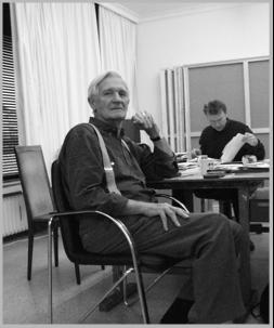 Bernard Schultze-Portrait