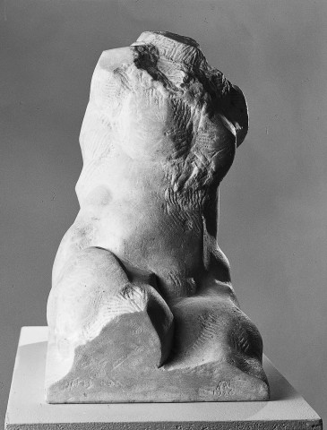 Herbert Albrecht, weiblicher Torso, 1986