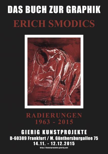 Erich Smodics - 2015 - Das Buch zur Graphik - Radierungen 1963-2015 - Plakat_Druck 150px