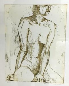 Smodics Erich, Sitzfigur, 1985