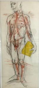 Smodics Erich, Stehender Träger (Victor), 1999
